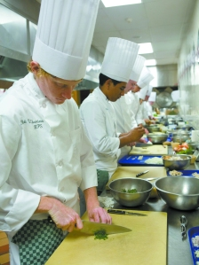 Skills I Class with Chef Martin Frei